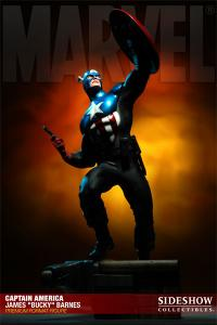 Gallery Image of Captain America - James 'Bucky' Barnes Premium Format™ Figure