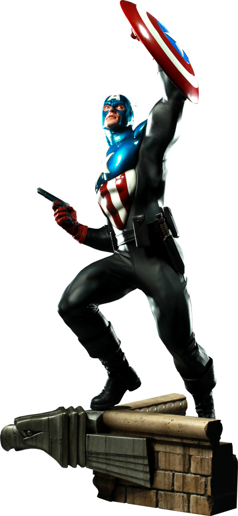 Sideshow Collectibles Captain America - James 'Bucky' Barnes Premium Format Figure