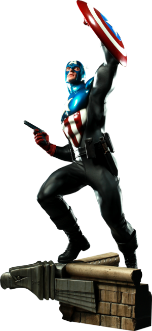 Captain America - James 'Bucky' Barnes Premium Format™ Figure