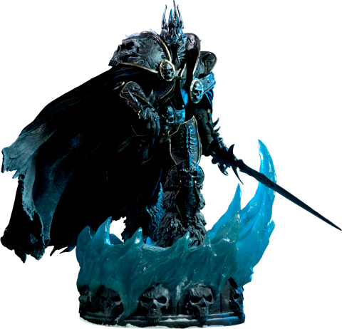 Sideshow Collectibles Arthas Polystone Statue