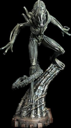Alien Warrior Statue