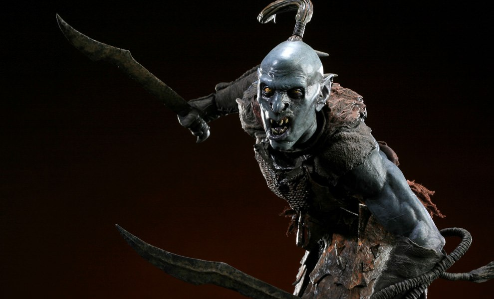 Gallery Feature Image of Black Orc of Mordor Premium Format™ Figure - Click to open image gallery