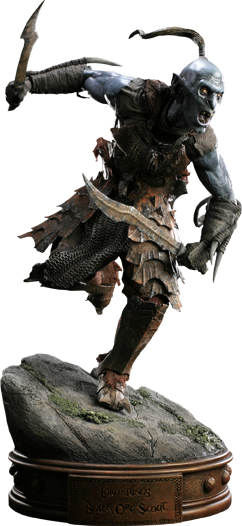 Sideshow Collectibles Black Orc of Mordor Premium Format Figure