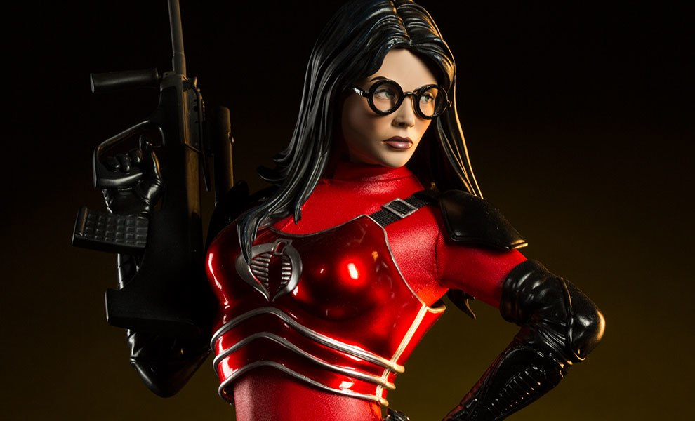 Gallery Feature Image of Baroness Crimson Strike Team Premium Format™ Figure - Click to open image gallery