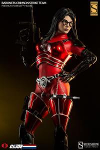 Gallery Image of Baroness Crimson Strike Team Premium Format™ Figure