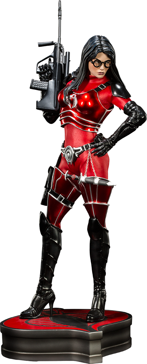 Sideshow Collectibles Baroness Crimson Strike Team Premium Format Figure