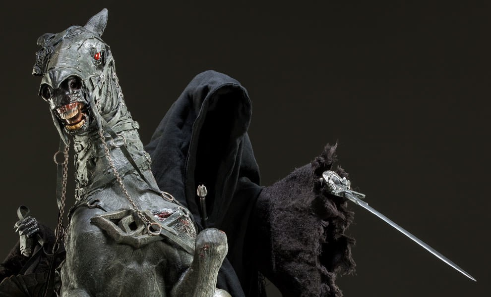 Gallery Feature Image of Dark Rider of Mordor Premium Format™ Figure - Click to open image gallery