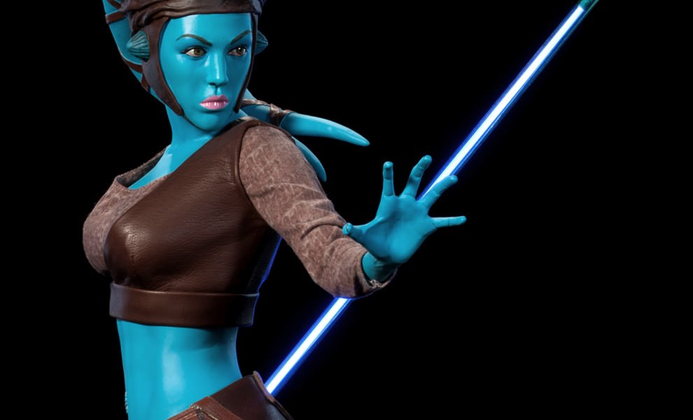 Gallery Feature Image of Aayla Secura Premium Format™ Figure - Click to open image gallery