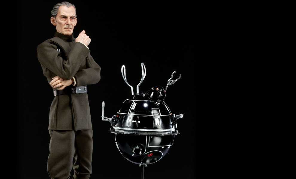 Gallery Feature Image of Grand Moff Tarkin and I-TO Interrogator Droid Premium Format™ Figure - Click to open image gallery