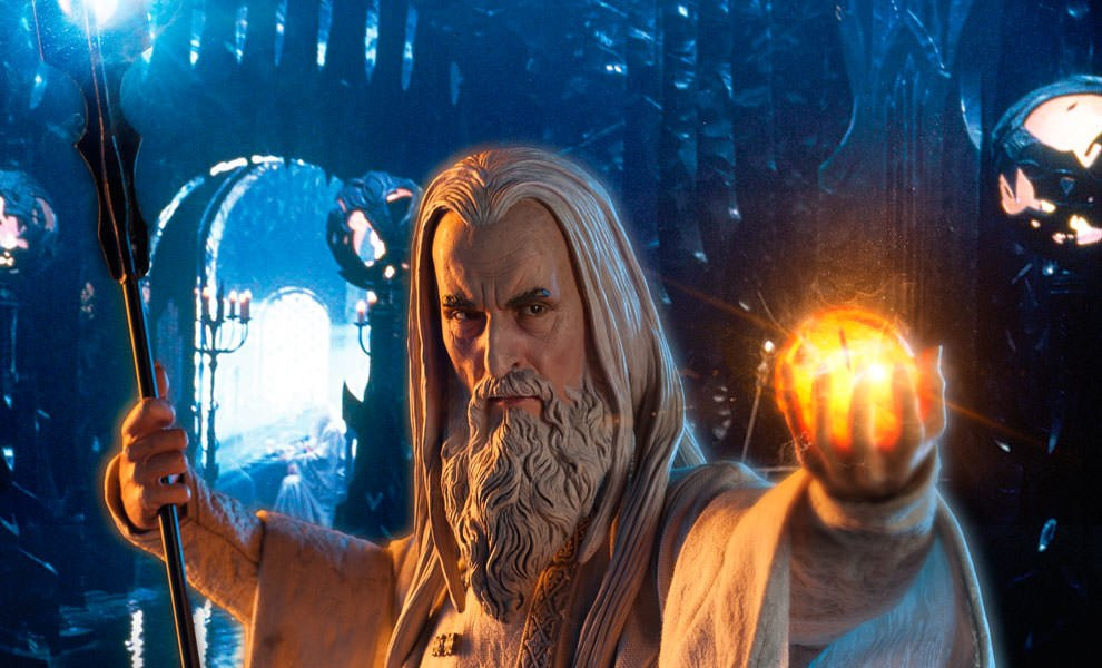 Gallery Feature Image of Saruman Premium Format™ Figure - Click to open image gallery