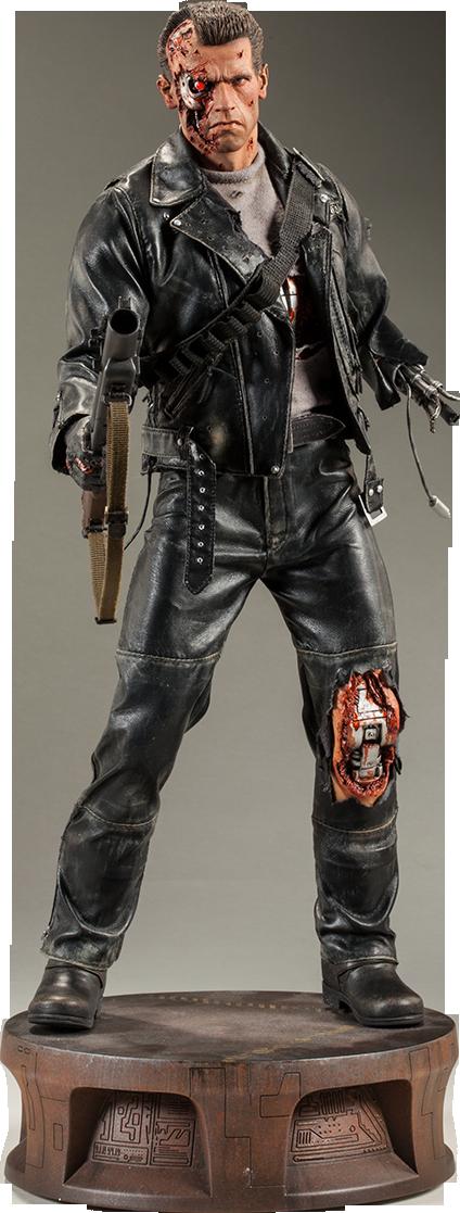 Sideshow Collectibles T:800 Terminator Battle Damaged Premium Format™ Figure