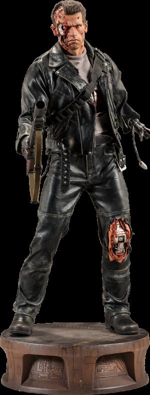 T:800 Terminator Battle Damaged Premium Format™ Figure