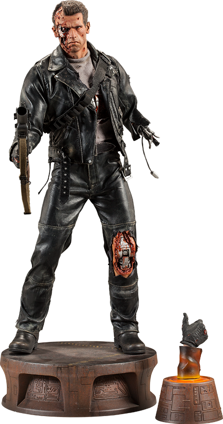 Sideshow Collectibles T:800 Terminator Battle Damaged Premium Format™ Figure