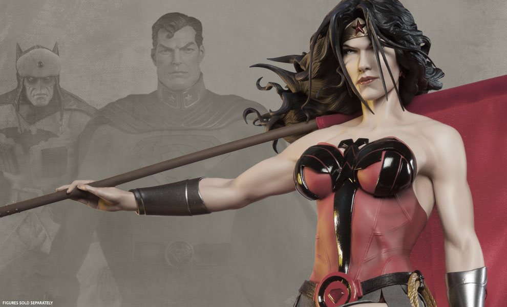 Gallery Feature Image of Wonder Woman - Red Son Premium Format™ Figure - Click to open image gallery