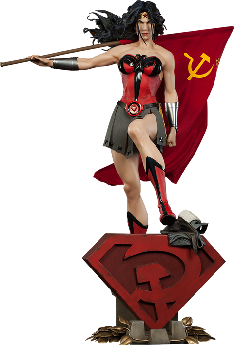 Sideshow Collectibles Wonder Woman - Red Son Premium Format™ Figure