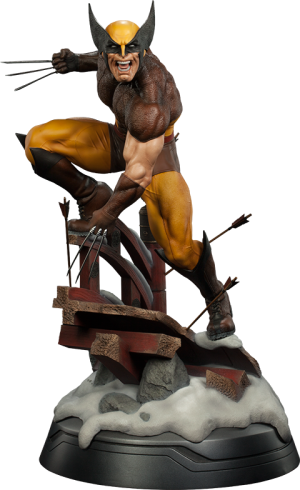 Wolverine - Brown Costume Premium Format Figure