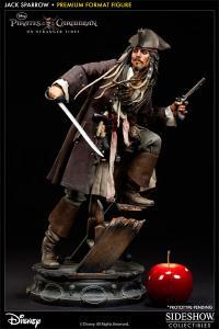 Gallery Image of Captain Jack Sparrow Premium Format™ Figure