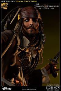 Gallery Image of Captain Jack Sparrow Premium Format™ Figure