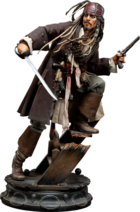 Sideshow Collectibles Captain Jack Sparrow Premium Format Figure