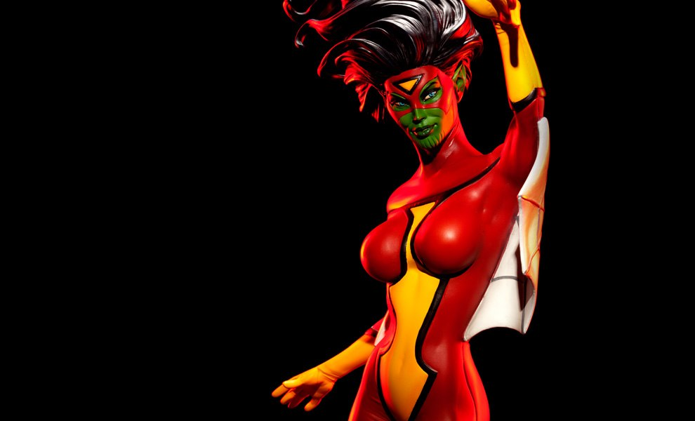 Gallery Feature Image of Spider-Woman Premium Format™ Figure - Click to open image gallery