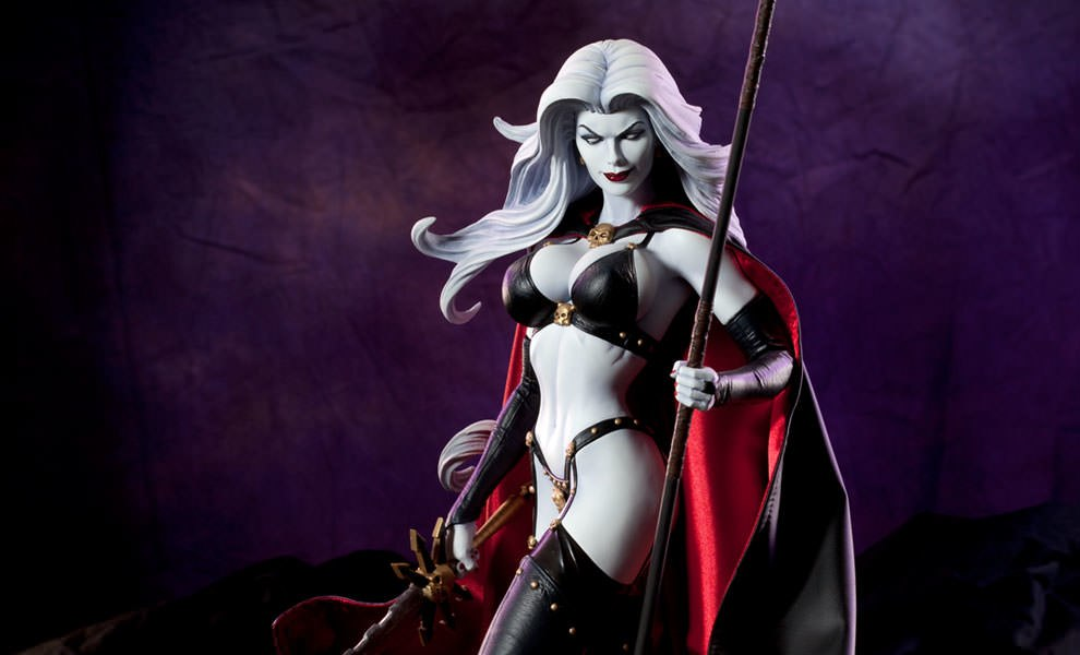 Gallery Feature Image of Lady Death Premium Format™ Figure - Click to open image gallery