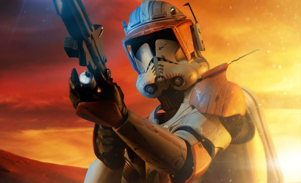 Gallery Feature Image of Commander Cody Premium Format™ Figure - Click to open image gallery
