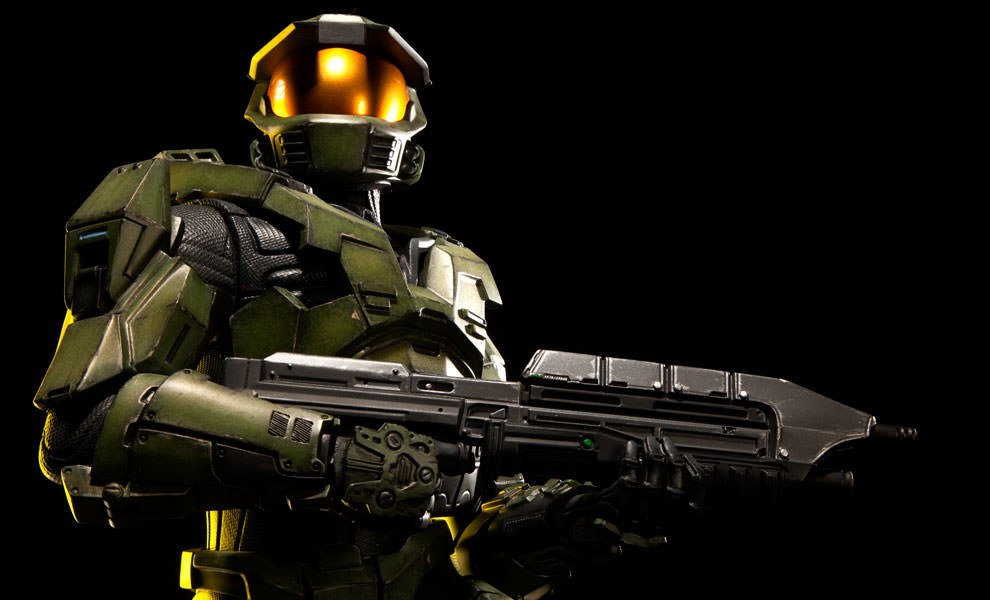 Halo Master Chief Premium Format Figure By Sideshow Collecti