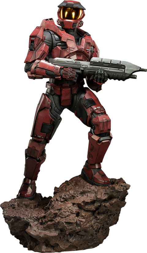 Sideshow Collectibles HALO Spartan - Red Team Leader Premium Format Figure