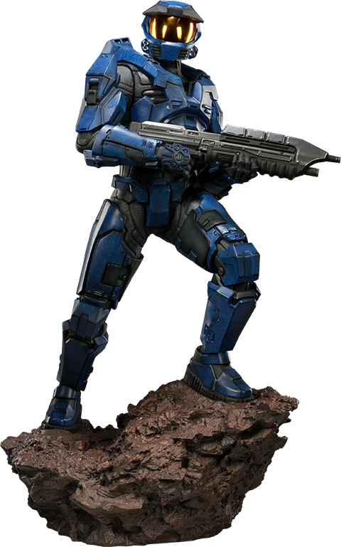 Sideshow Collectibles HALO Spartan - Blue Team Leader Premium Format™ Figure