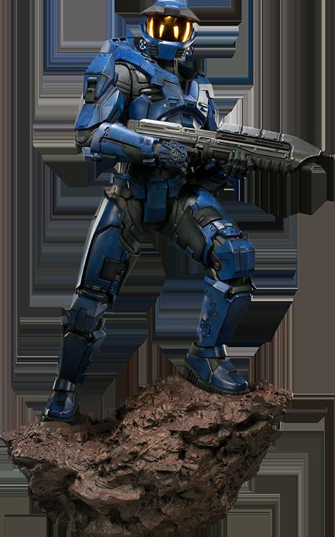 Sideshow Collectibles HALO Spartan - Blue Team Leader Premium Format Figure