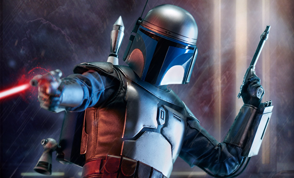 Gallery Feature Image of Jango Fett Premium Format™ Figure - Click to open image gallery