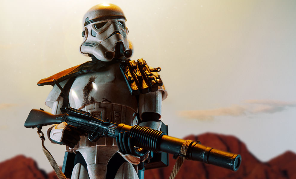 Gallery Feature Image of Sandtrooper Premium Format™ Figure - Click to open image gallery