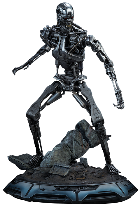 Sideshow Collectibles Terminator T-800 Endoskeleton Maquette