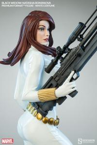 Gallery Image of Black Widow - White Costume Edition Premium Format™ Figure