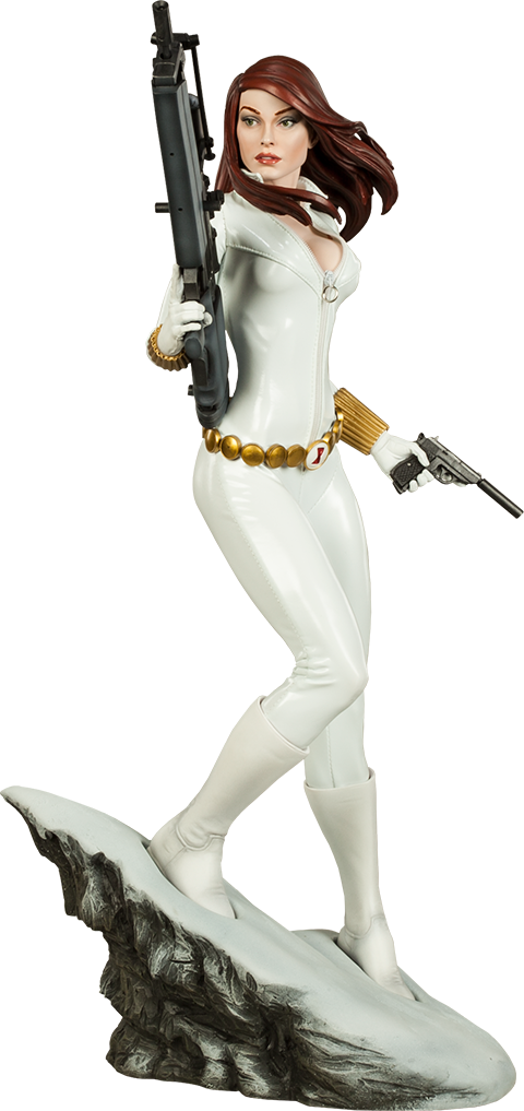 Sideshow Collectibles Black Widow - White Costume Edition Premium Format™ Figure