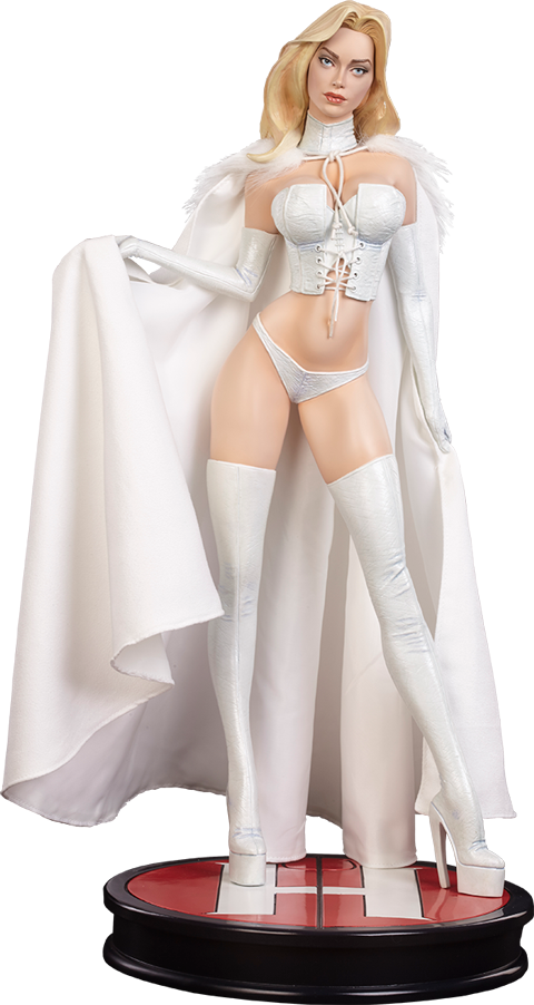 Sideshow Collectibles Emma Frost Hellfire Club Premium Format Figure
