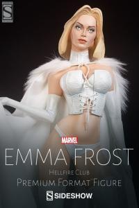 Gallery Image of Emma Frost Hellfire Club Premium Format™ Figure
