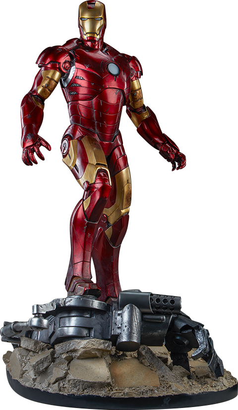 Sideshow Collectibles Iron Man Mark III Maquette
