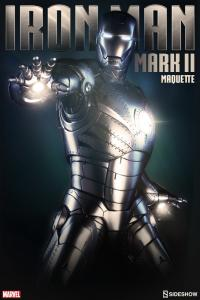 Gallery Image of Iron Man Mark II Quarter Scale Maquette
