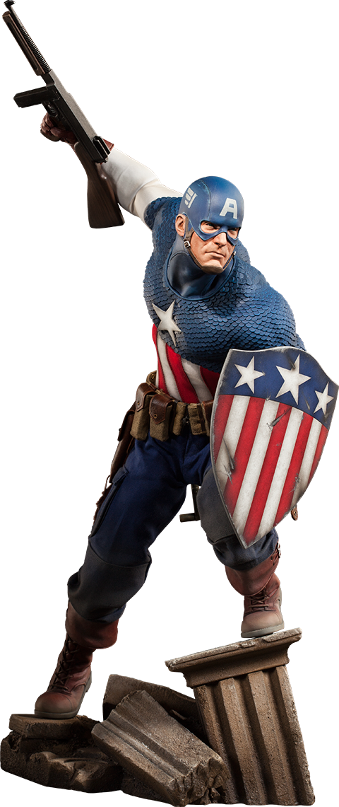 Sideshow Collectibles Captain America Premium Format Figure