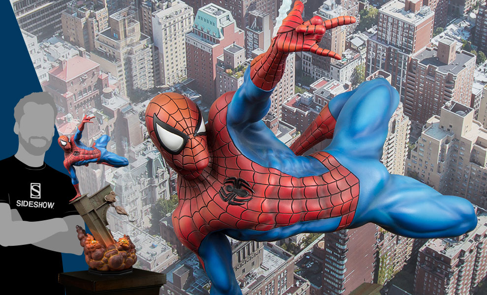 Gallery Feature Image of The Amazing Spider-Man Premium Format™ Figure - Click to open image gallery