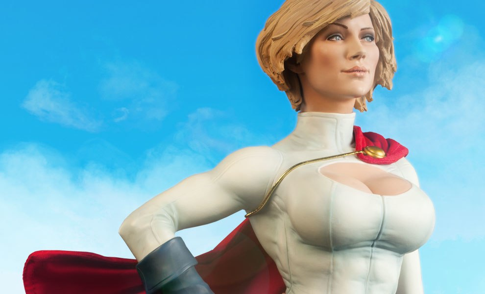 Gallery Feature Image of Power Girl Premium Format™ Figure - Click to open image gallery