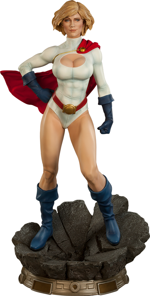 Sideshow Collectibles Power Girl Premium Format Figure