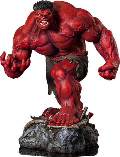 Sideshow Collectibles Red Hulk Premium Format Figure
