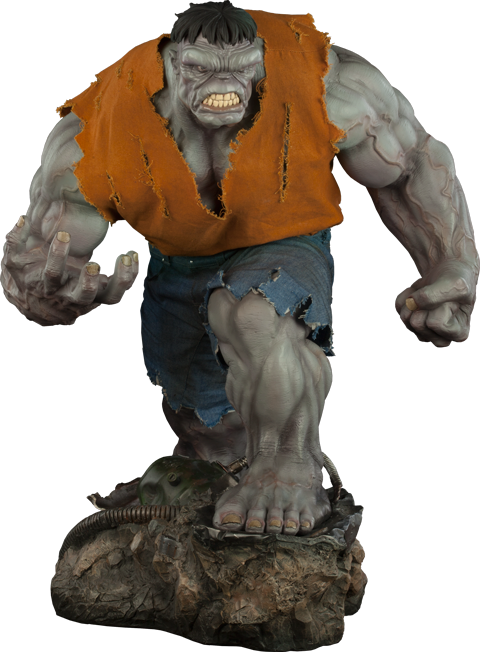 Sideshow Collectibles Gray Hulk Premium Format Figure