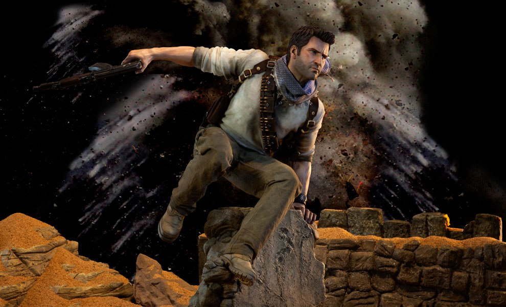 Gallery Feature Image of Nathan Drake Premium Format™ Figure - Click to open image gallery