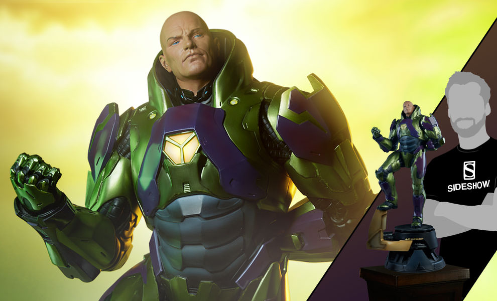 Gallery Feature Image of Lex Luthor - Power Suit Premium Format™ Figure - Click to open image gallery