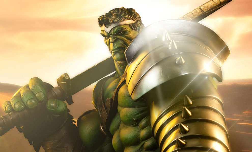 Gallery Feature Image of King Hulk Premium Format™ Figure - Click to open image gallery