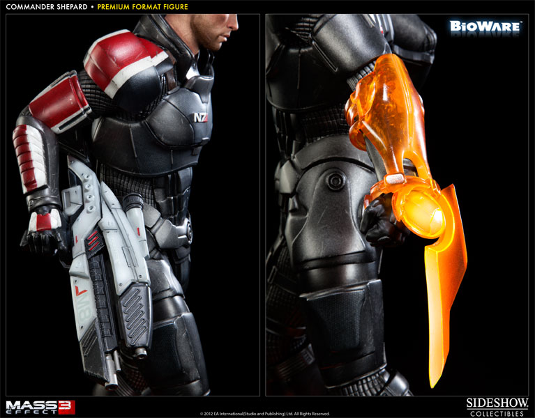 Mass Effect Commander Shepard Premium Format Figure By Sideshow Collectibles