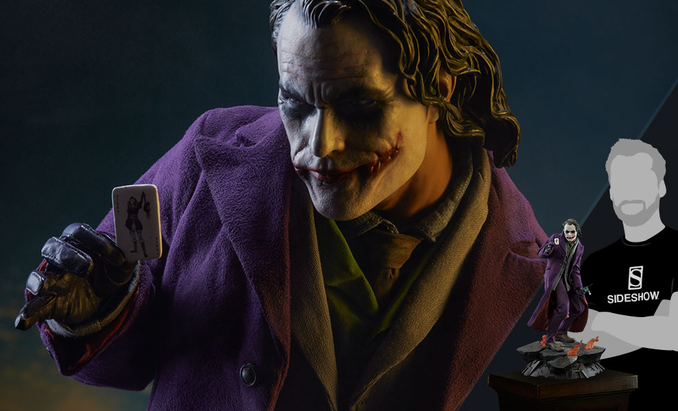 Gallery Feature Image of The Joker The Dark Knight Premium Format™ Figure - Click to open image gallery